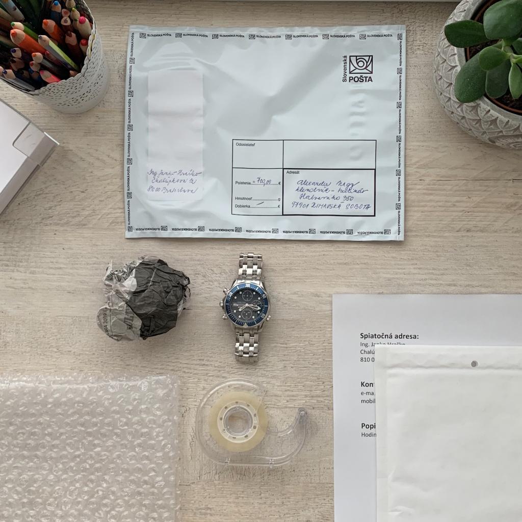 Čo potrebujete ak nám chcete bezpečne poslať hodinky